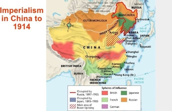 Imperialism Map China
