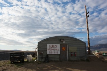 A stopover for fuel in the (almost) always sunny Eureka.