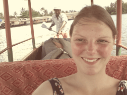Canoeing on the backwaters