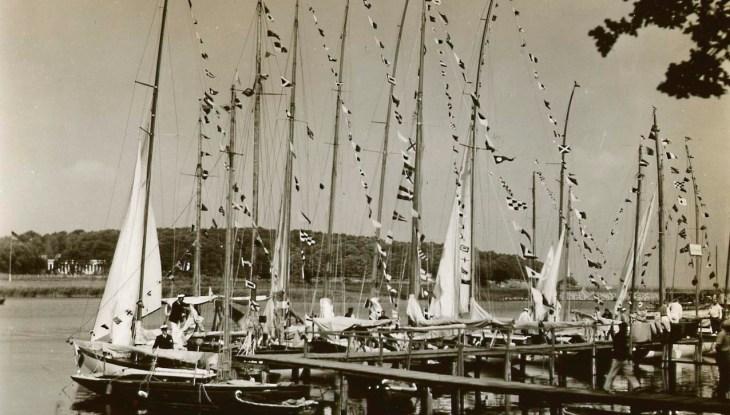 Der fürstliche Yachtclub Putbus