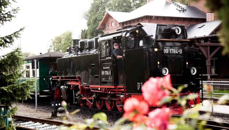 """Kleine Bahn auf großer Insel – """"Rasender Roland"""""""