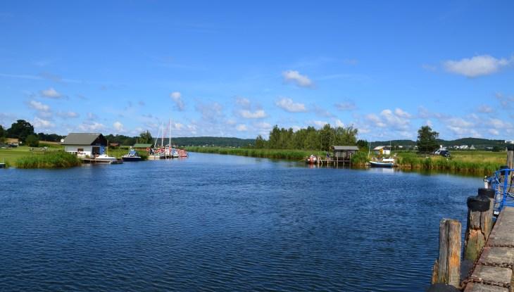Ruderbootfähre in Moritzdorf