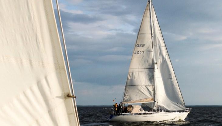 Regatta ohne Wind – Von einer unfassbar unpassenden Flaute