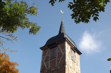 Kultur- und Wegekirche Landow im Westen Rügens