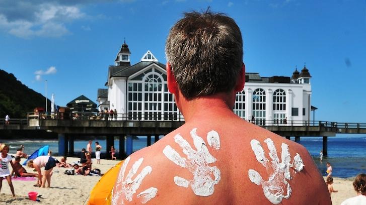 Kreidezeit am Strand: Kreideweißer Sommerspaß an der Ostsee