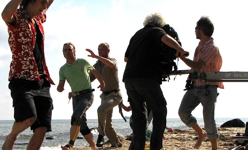 Blutiger Film-Dreh auf Rügen: Ein Ausflug ans Meer mit Hauen und Stechen