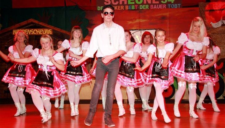 """Karneval auf Rügen: """"Schiet, schiet, lat se!"""""""