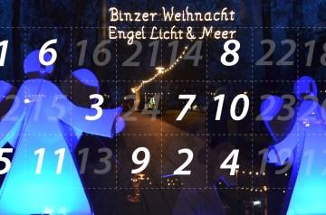 """Adventskalender 11. Dezember 2014: """"Engel, Licht und Meer"""" in Binz"""