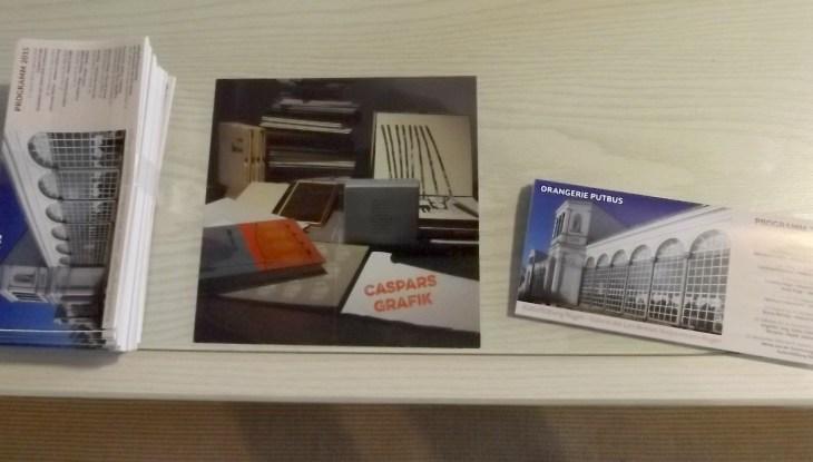 Caspars Grafik: Ausstellungs-Auftakt in der Orangerie