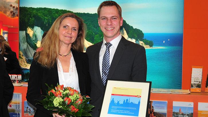 Ehrung auf der ITB: Preis für Hotel meerSinn aus Binz