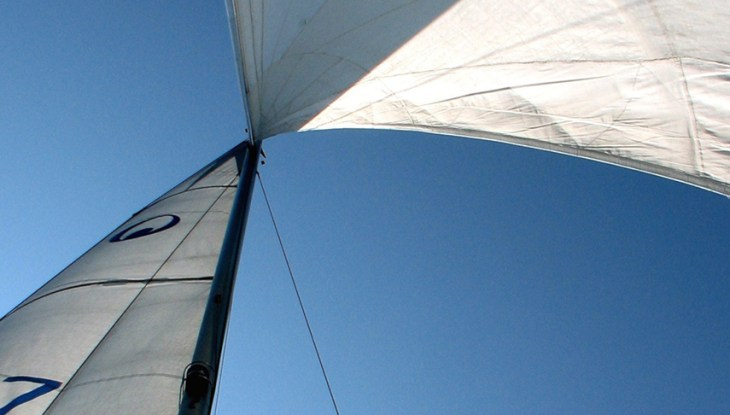 """Freiheit unter weißen Segeln auf der """"Lyra"""""""