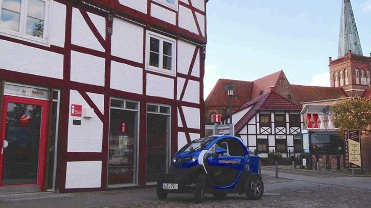 In der Ruhe liegt die Kraft. . . Eine Rügen-Tour mit dem Elektroflitzer Twizy