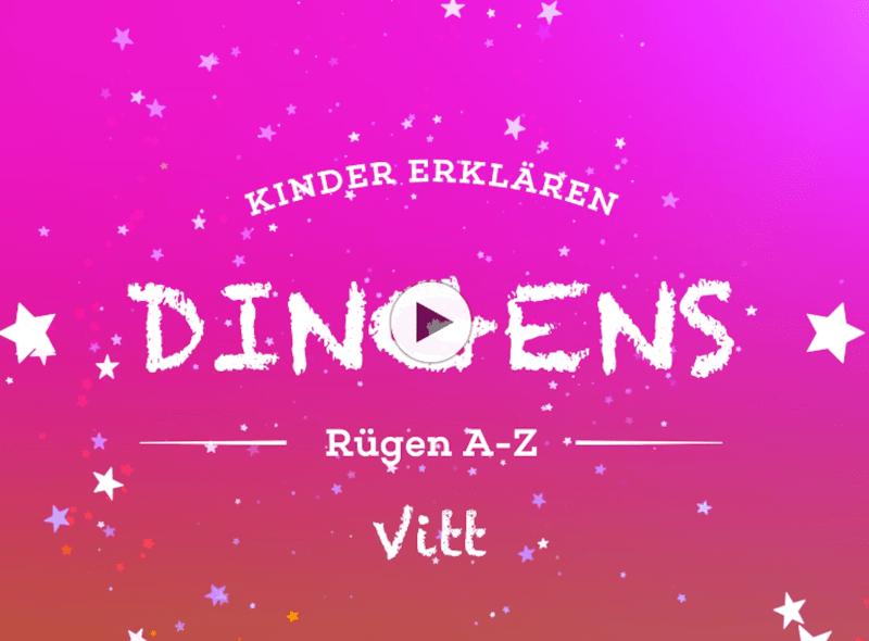"""""""Dingens – Rügen von A bis Z"""": V wie Vitt"""