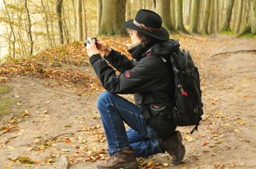 Auf Fotopirsch durch die Granitz