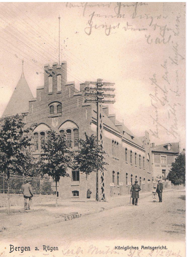 1. Koeniglich preussische Amtsgericht 1904