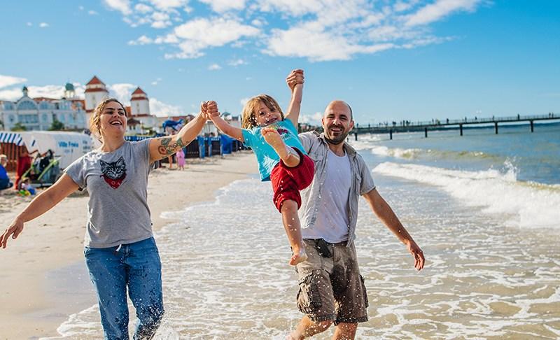 Mit Tim und Tine: Rügen-Urlaub in Familie