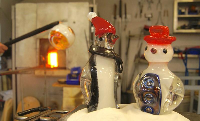 Mit einem Schneemann in die Sauna? Geht nicht? Geht doch!