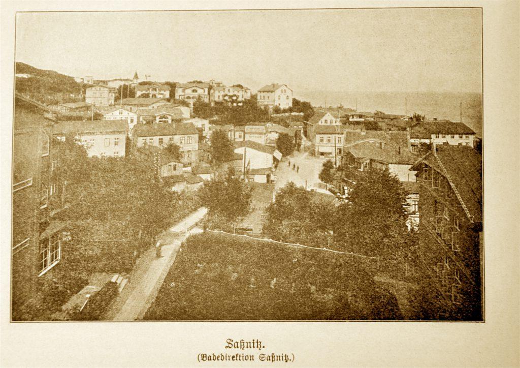 hv Hafenstadt Sassnitz um 1900