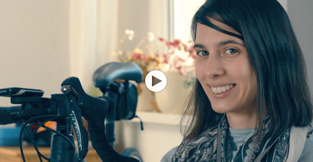 Sportfreunde Rügen – Rennradfahrerin Antonia
