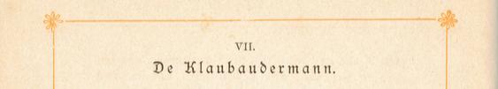 De Klabaudermann