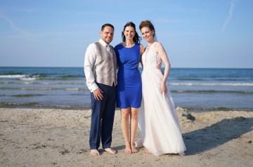 """Eine Hochzeit auf Rügen: Carmen und Robert sagen """"ja"""""""