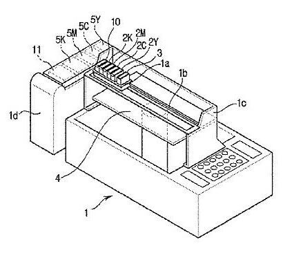 Samsung Multi-Color Ink 3D Patent