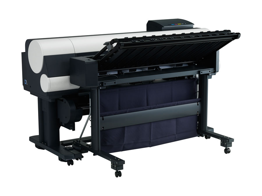 Canon imagePROGRAF IPF850 with High-Capacity Stacker