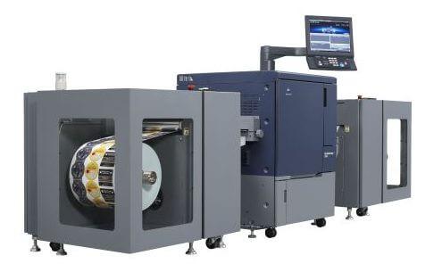 Konica Minolta's bizhub Press C71cf.