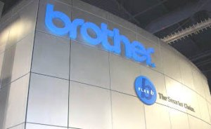 Brother International booth