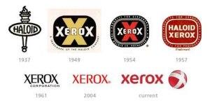 Xerox brand history