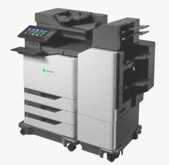 cx860 with document finishing