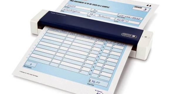 Duplex Travel Scanner