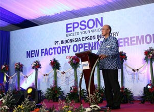 indonesia factory opening