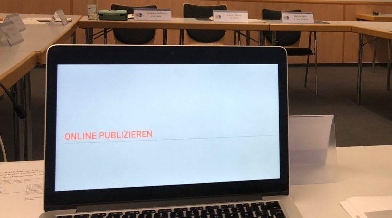 Seminar Online publizieren