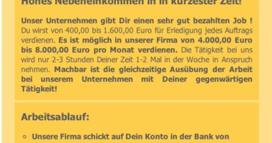 Arbeit für mich in Deutschland