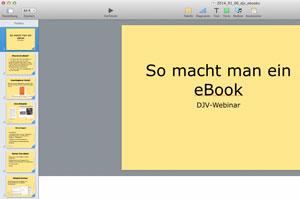 Screenshot Präsentation