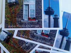 Digitalien: Postkarten mit Köln-Motiven