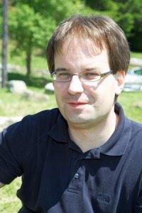 Sebastian Brinkmann gibt einen Mini-Workshop zu Evernote