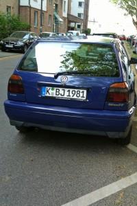 Mein Auto!