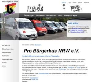 Bürgerbusse in NRW: Seit 30 Jahren auf der Straße