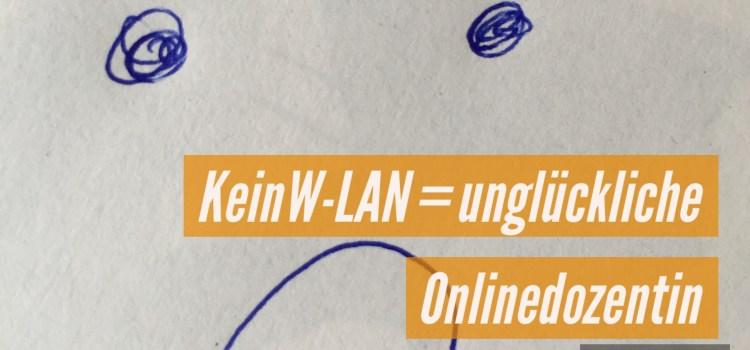 Kein W-LAN = kein Onlinejournalismus