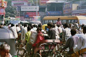 Ganz so schlimm wie in Delhi ist es in Köln (noch) nicht