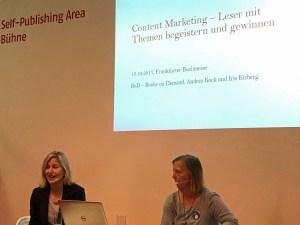 Wie geht Content Marketing in der Buchbranche?
