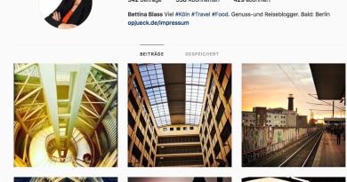 Mein Instagram-Account: bettinaopjueck
