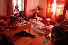 Zimmer á la Matratzenlager mit 12?