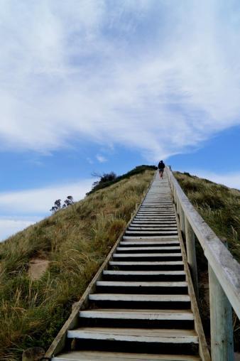 Die Treppe zum Himmel. Oder so.