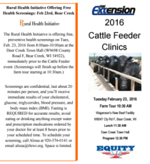 Cattle Feeder Clinic_Bear Creek_2016-02-23