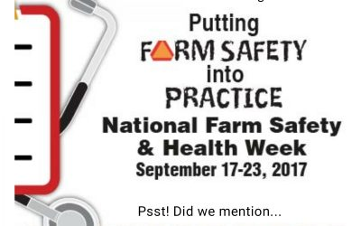 National Farm Safety & Health Week Kicks Off Today