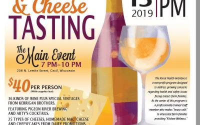 15th Annual Wine and Cheese Fundraiser