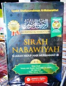 Buku Sirah nabawiyah Terjemah Rahiqul Makhtum Penerbit Ummul QUra